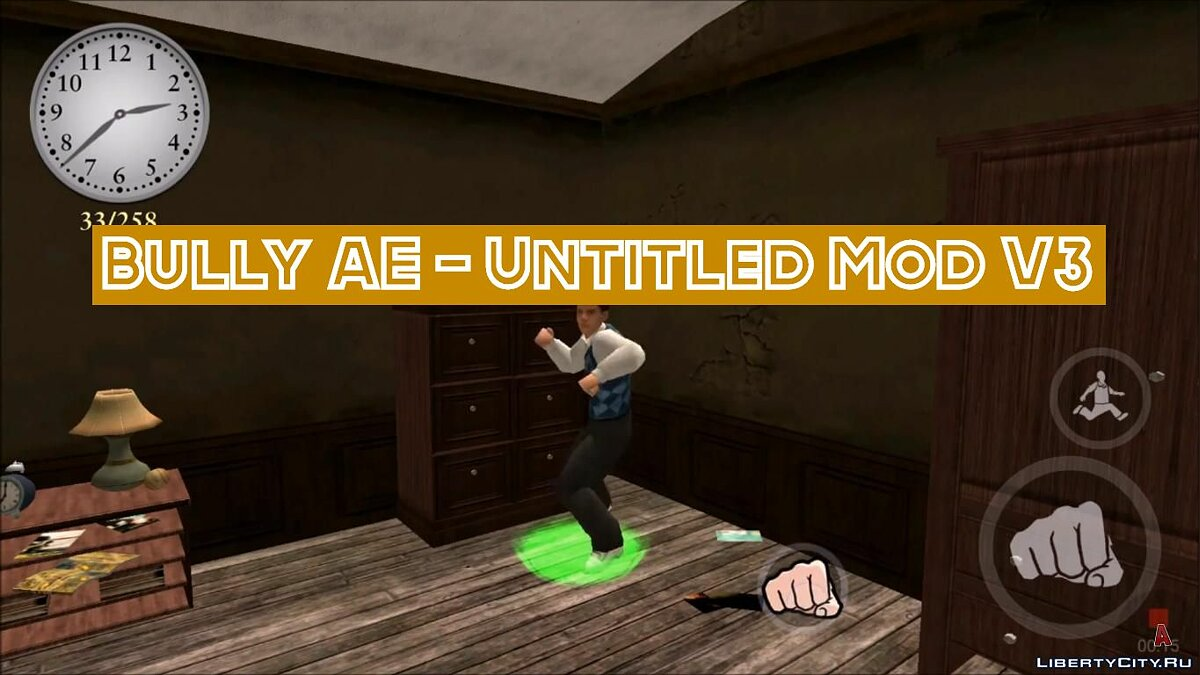 Мод UNTITLED MOD V3 / Bully Anniversary Edition для Bully: Scholarship Edition