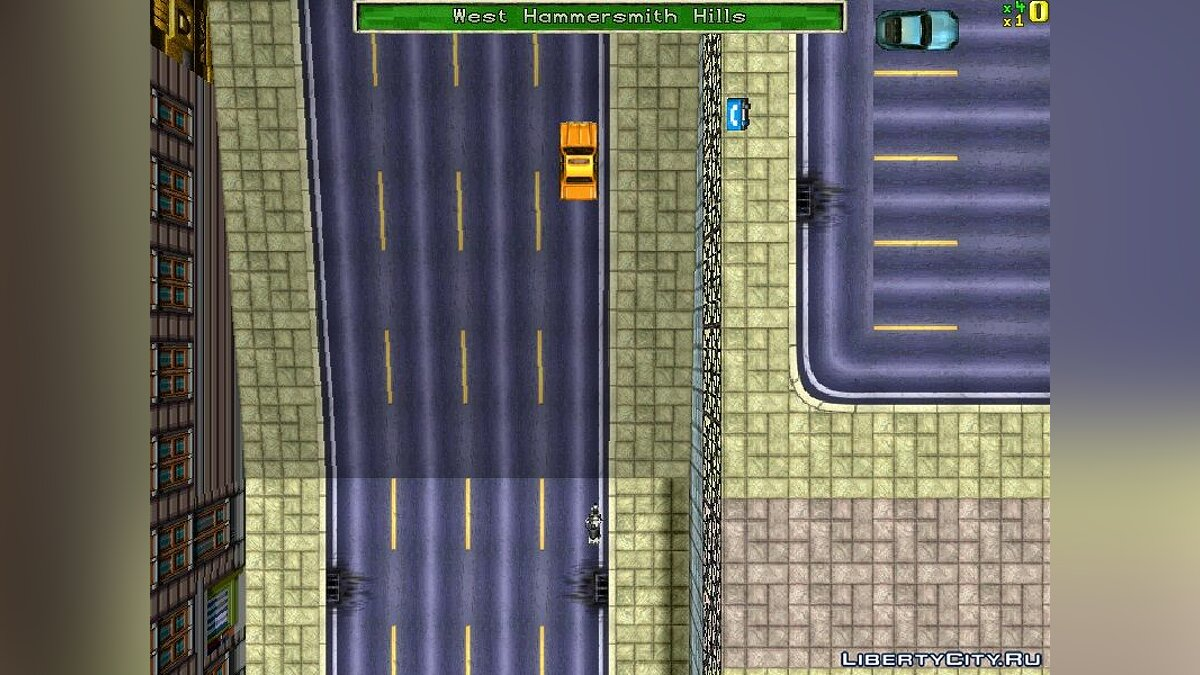 Карта Scumbag City для GTA 1