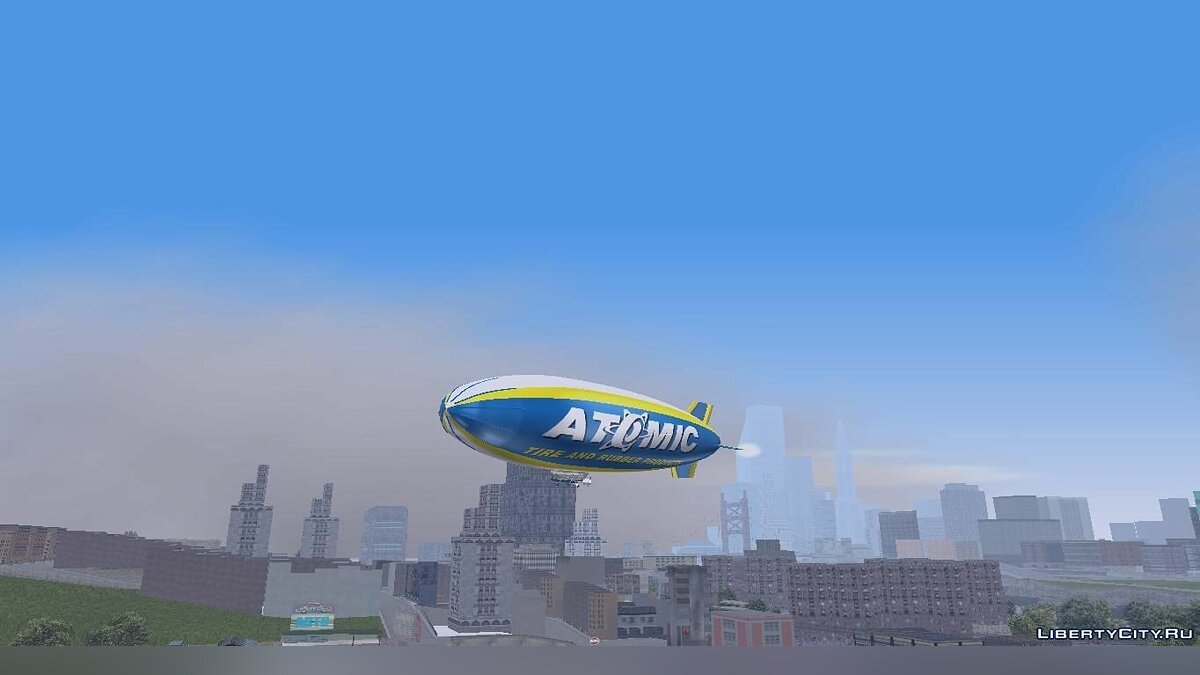 Atomic Blimp для GTA 3 - скриншот #6