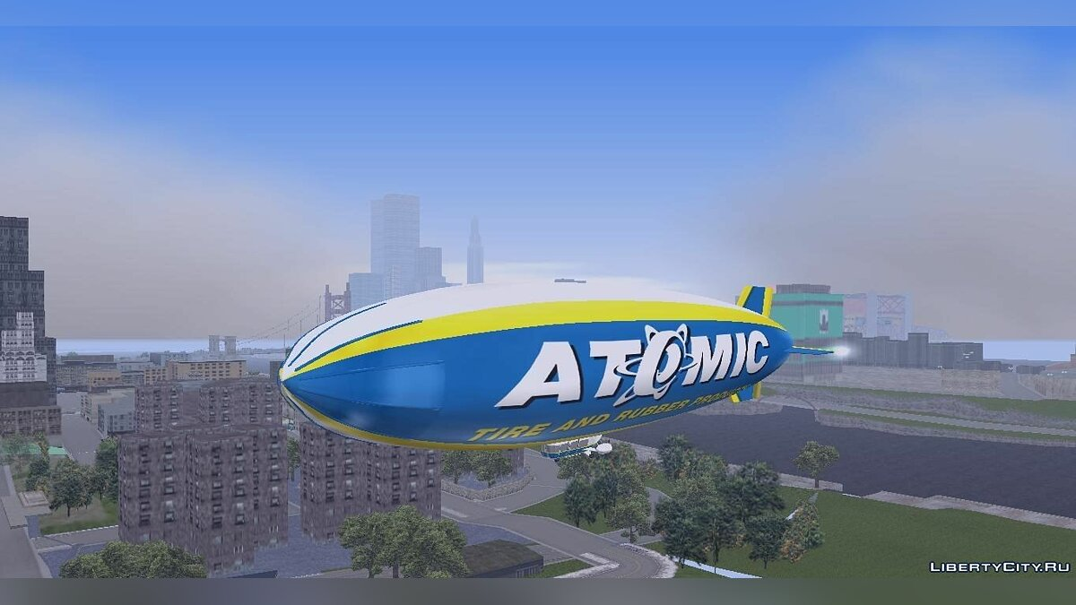 Atomic Blimp для GTA 3