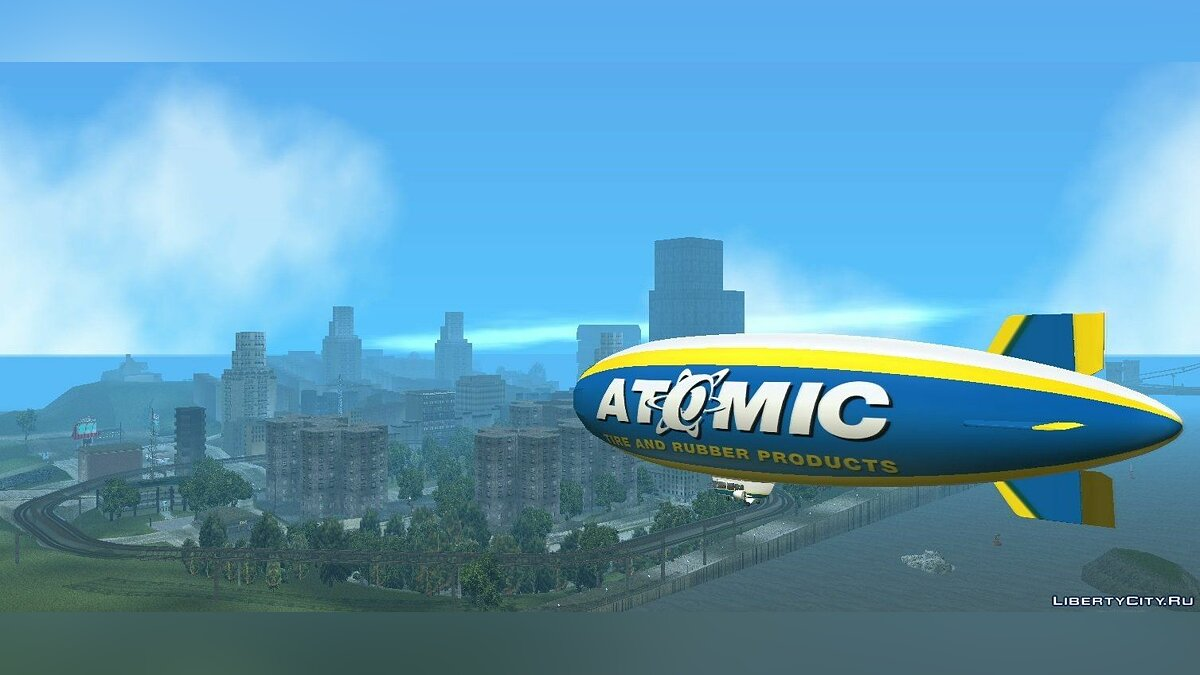 Atomic Blimp для GTA 3 - скриншот #9