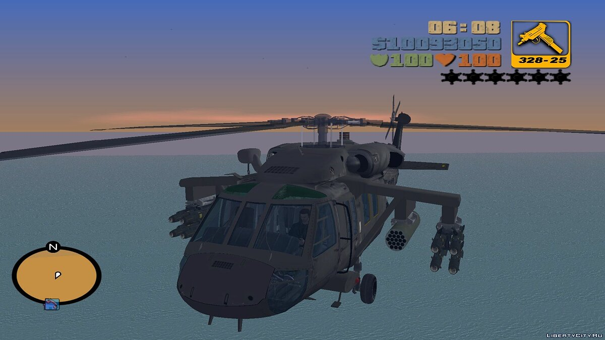 Sikorsky UH-60 Black Hawk для мода Aircraft для GTA 3 - Картинка #1