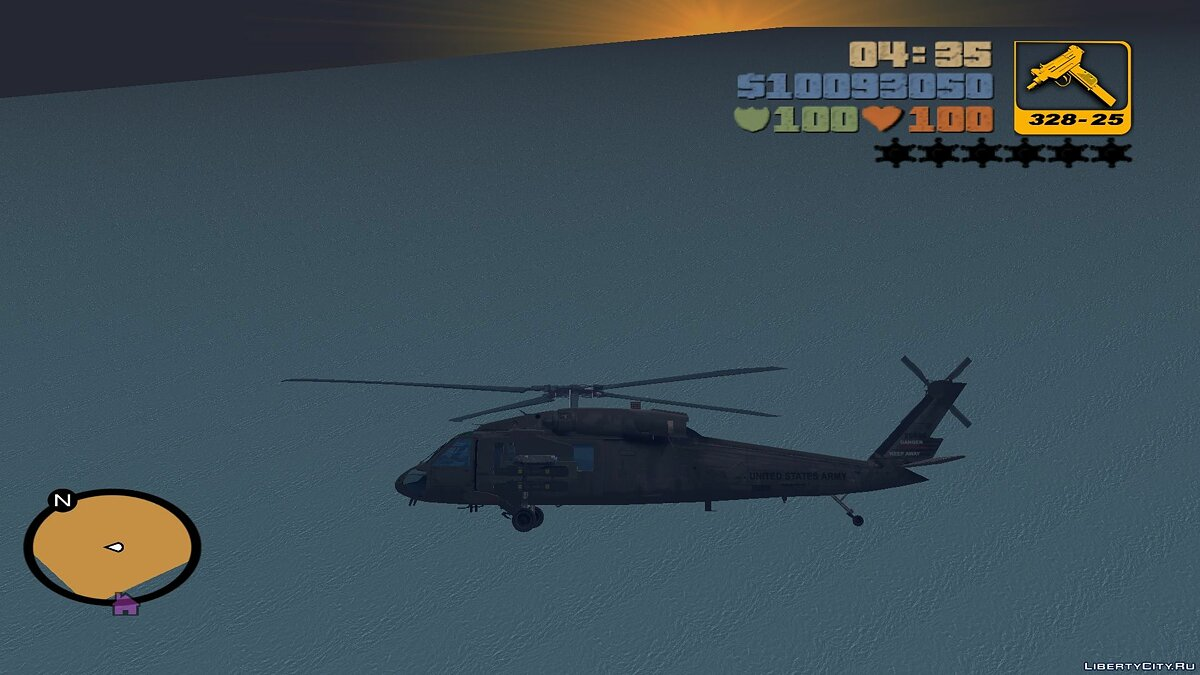 Sikorsky UH-60 Black Hawk для мода Aircraft для GTA 3 - Картинка #3