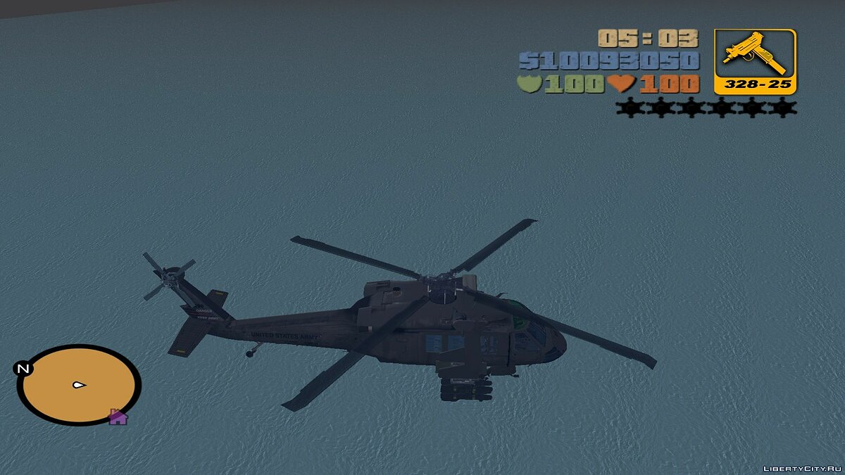 Sikorsky UH-60 Black Hawk для мода Aircraft для GTA 3 - Картинка #5