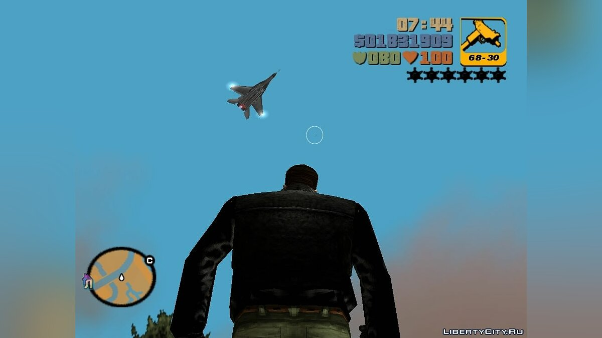 Самолет и вертолет МиГ-29 из Call of Duty для GTA 3