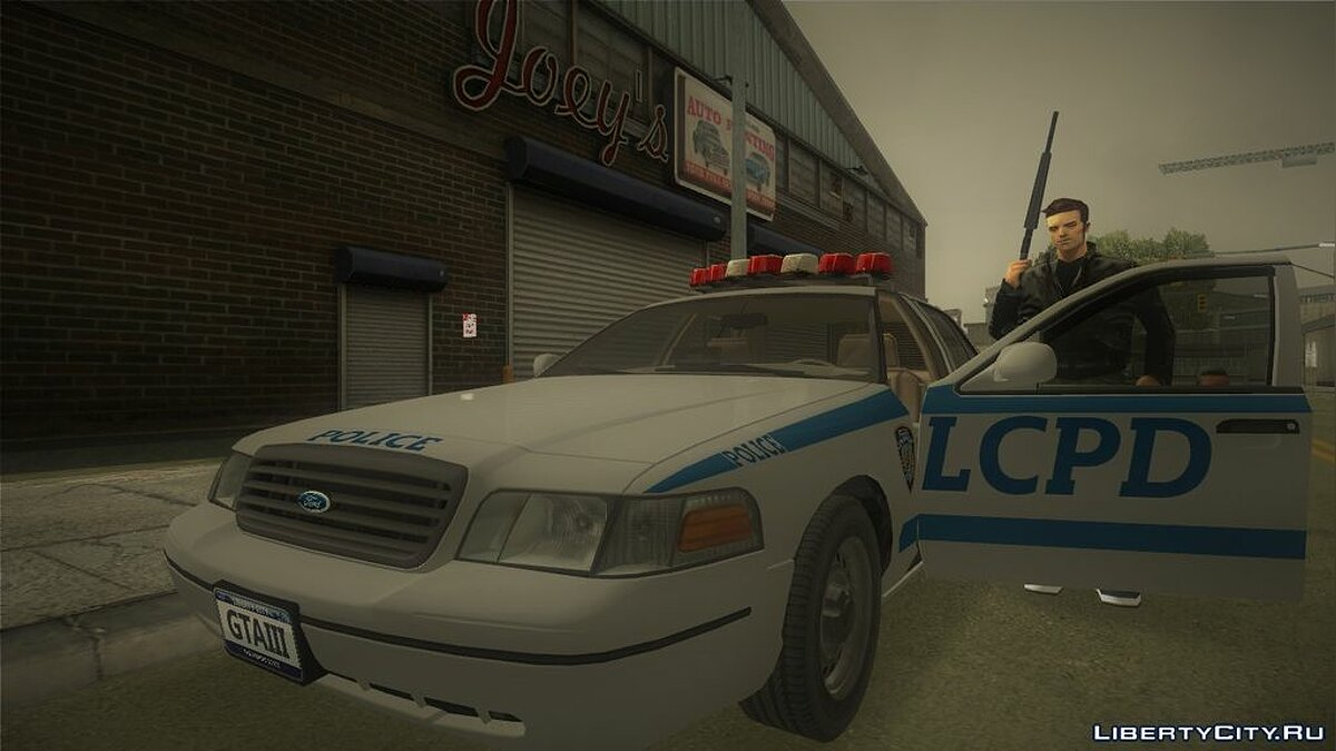 Ford Crown Victoria LCPD для GTA 3