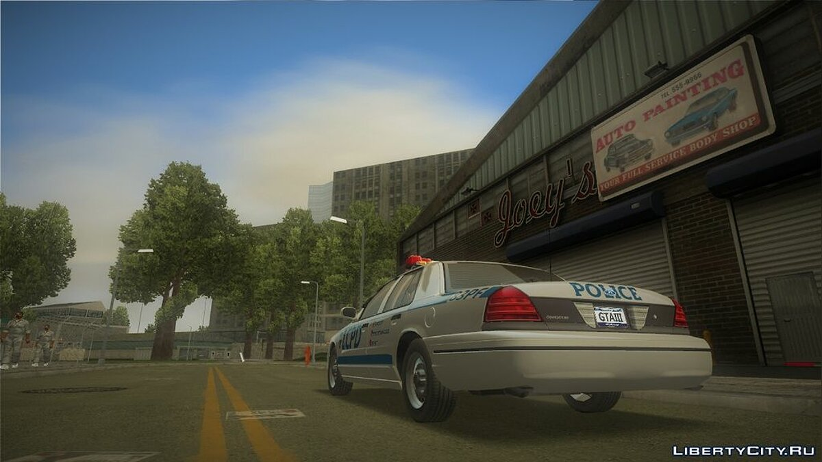 Ford Crown Victoria LCPD для GTA 3 - скриншот #3