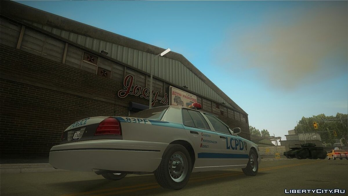 Ford Crown Victoria LCPD для GTA 3 - скриншот #2