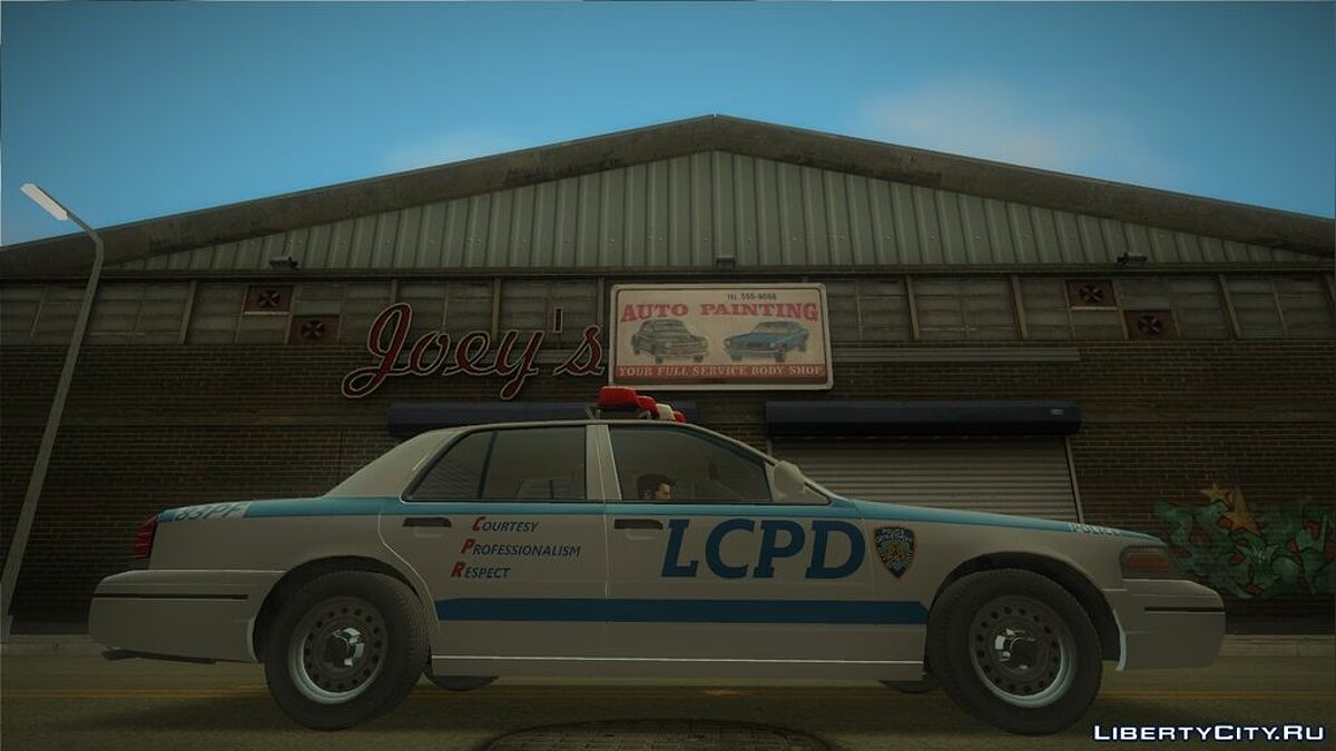 Ford Crown Victoria LCPD для GTA 3 - скриншот #4