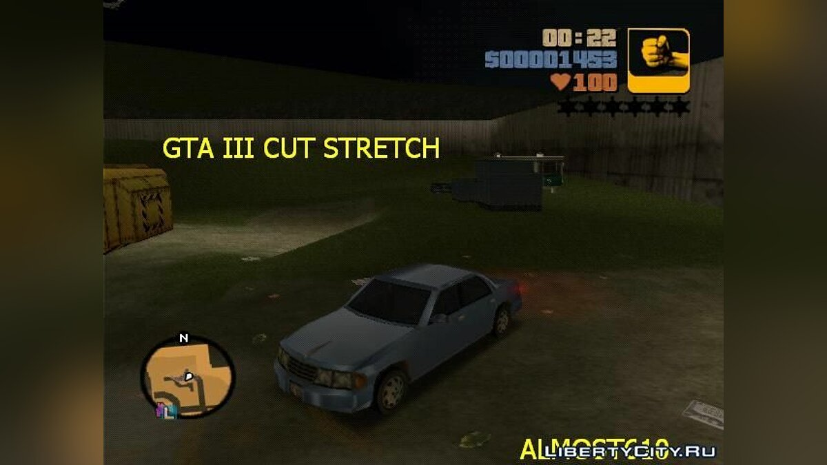 Cut III Stretch для GTA 3