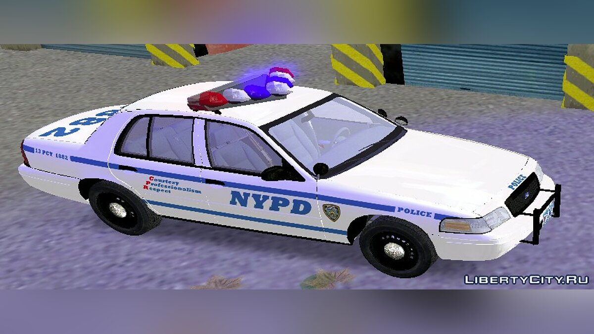 NYPD & LCPD Ford Crown Victoria для GTA 3 - Картинка #3