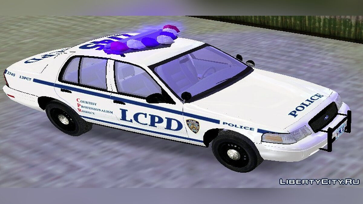 NYPD & LCPD Ford Crown Victoria для GTA 3 - Картинка #2