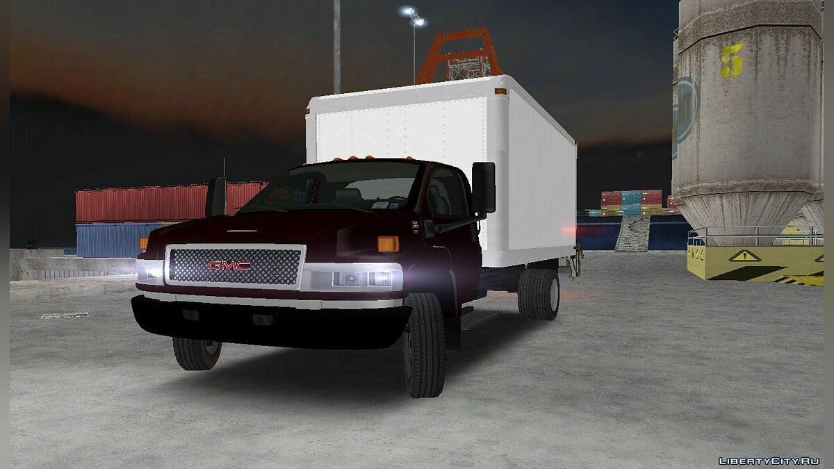 GMC C5500 2004 Top Kick для GTA 3
