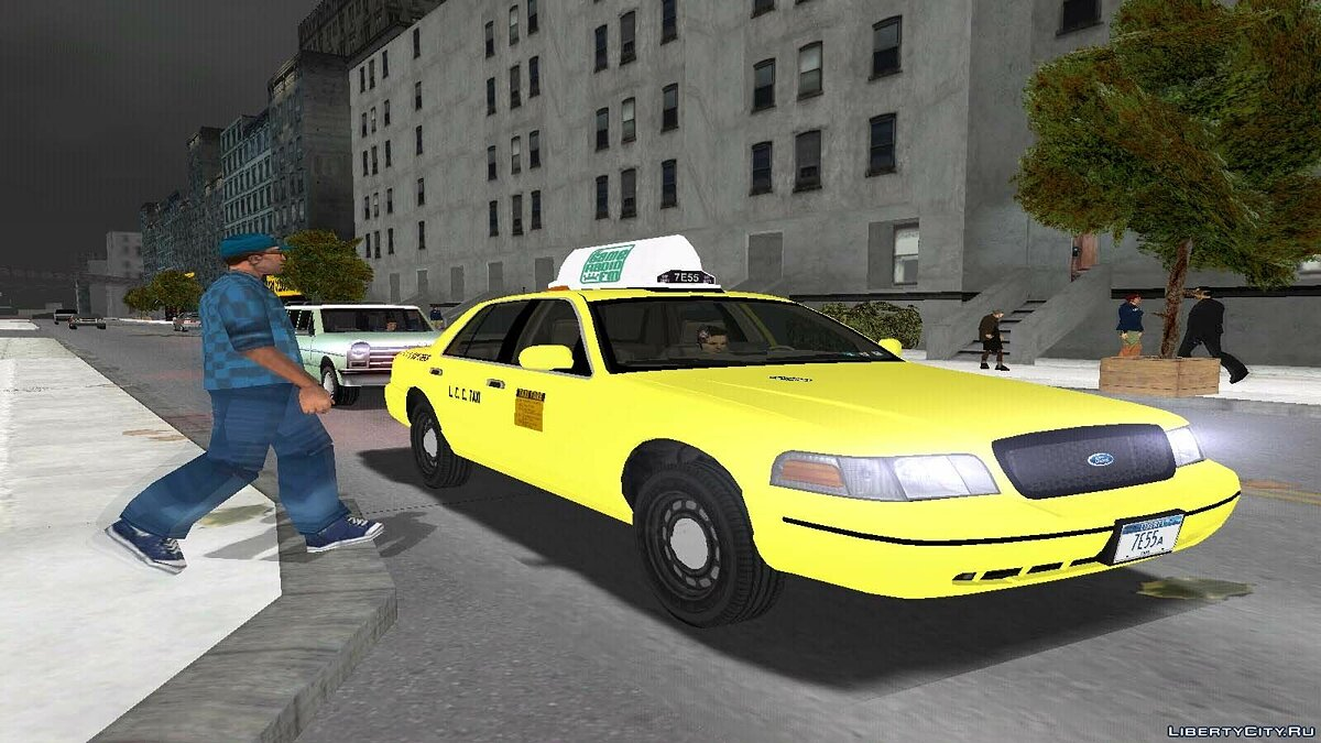 Машина 2003 Ford Crown Victoria P72 для GTA 3