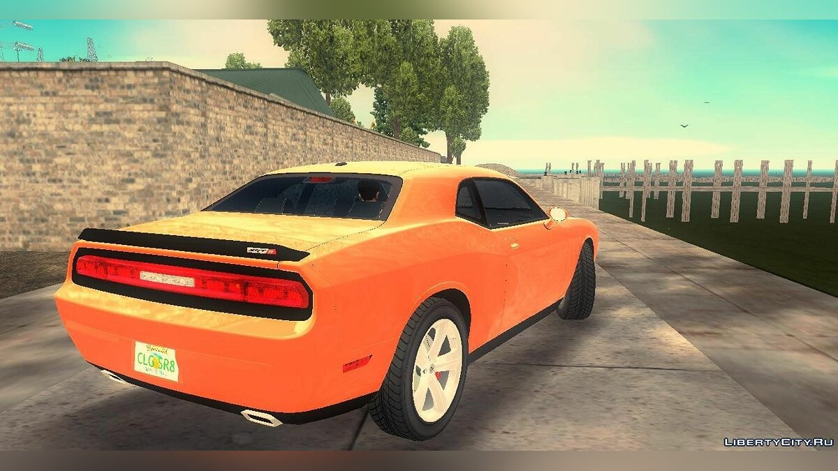 Dodge Challenger SRT-8 для GTA 3