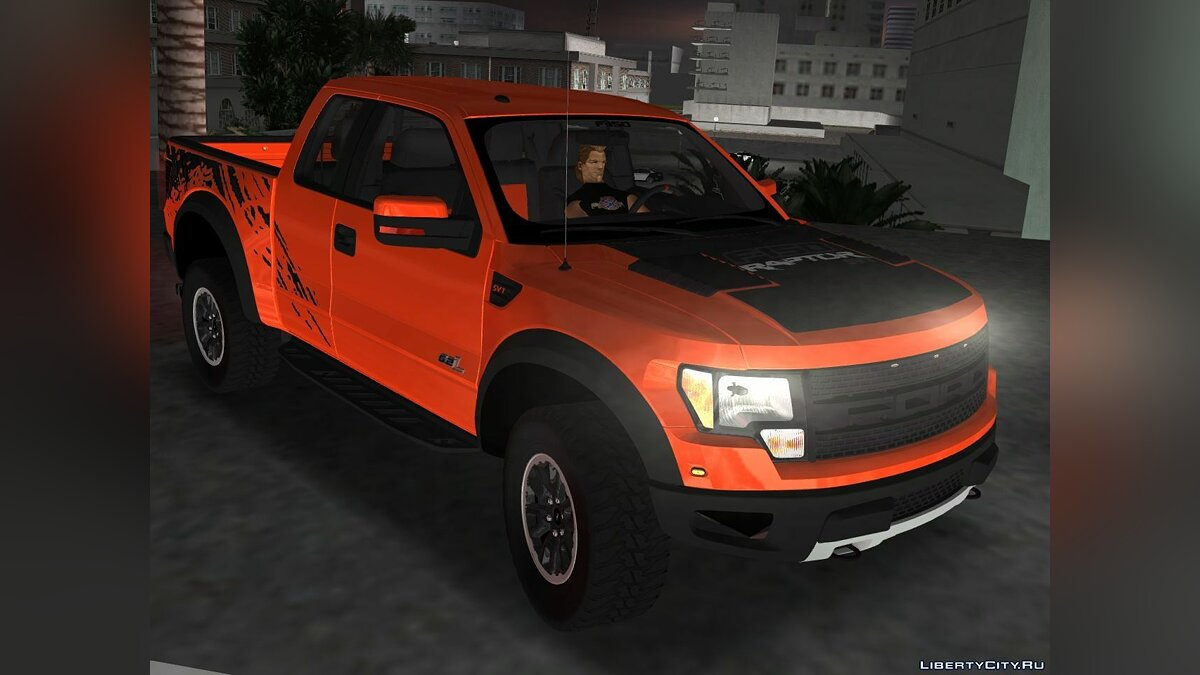 Машина Ford F-150 SVT Raptor для GTA 3