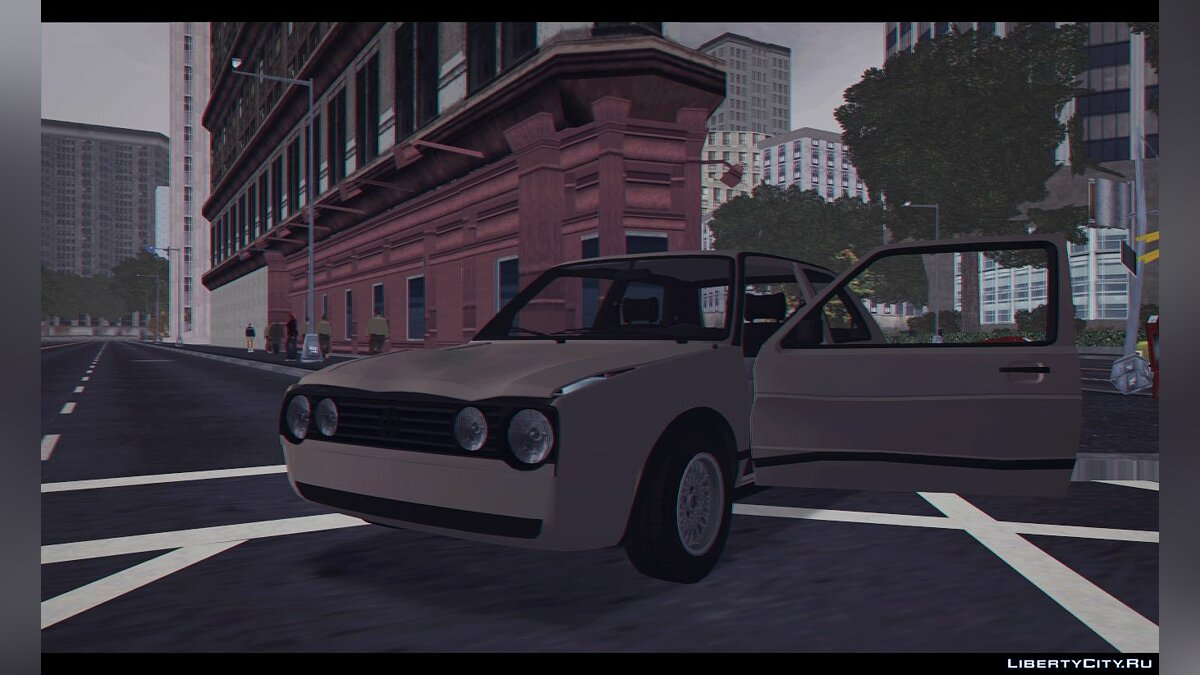 Машина Volkswagen Golf II GTI Low-Spec для GTA 3