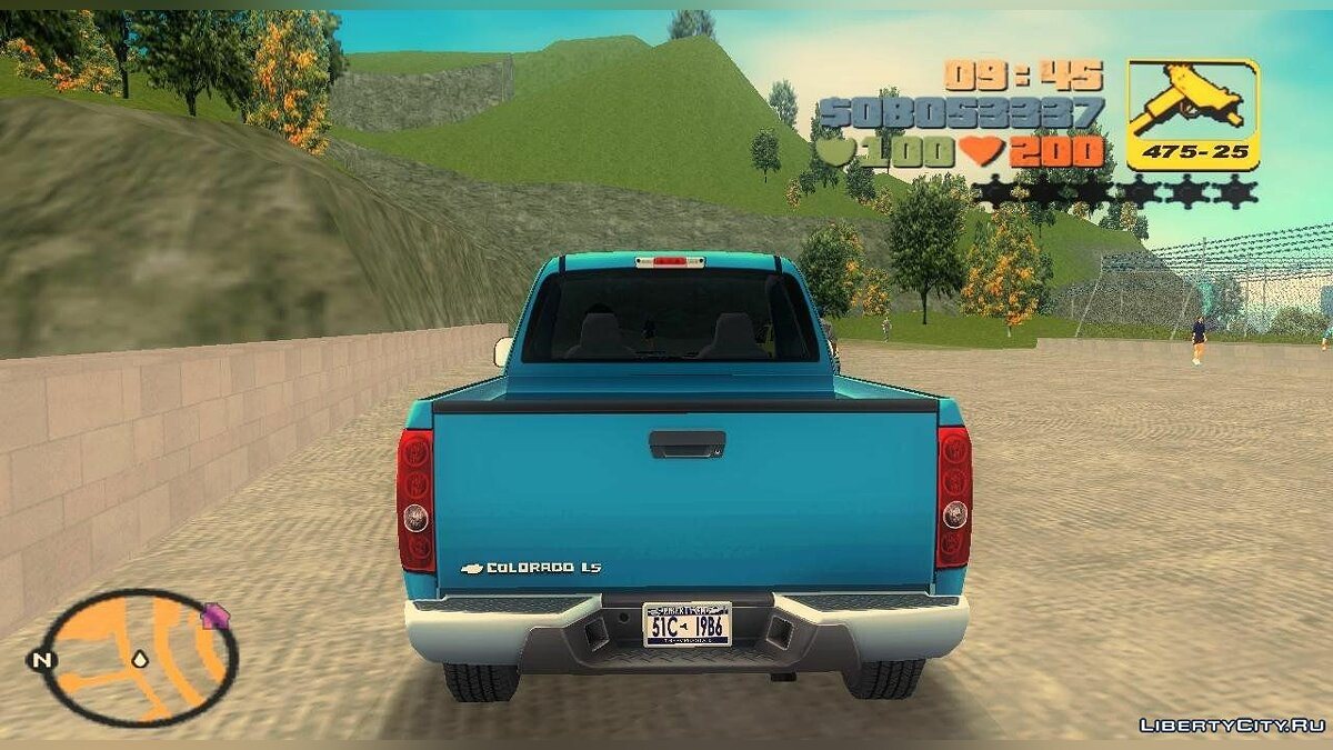 Chevrolet Colorado Extended Cab для GTA 3 - скриншот #2