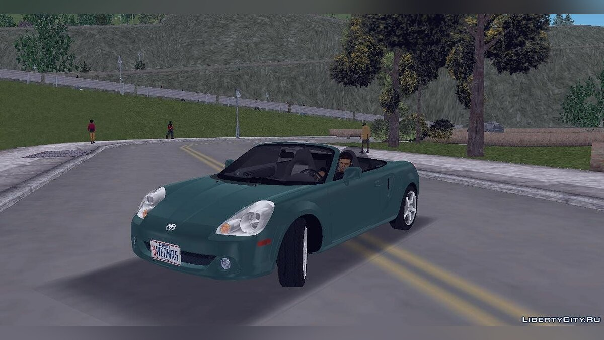 Toyota MR-S для GTA 3