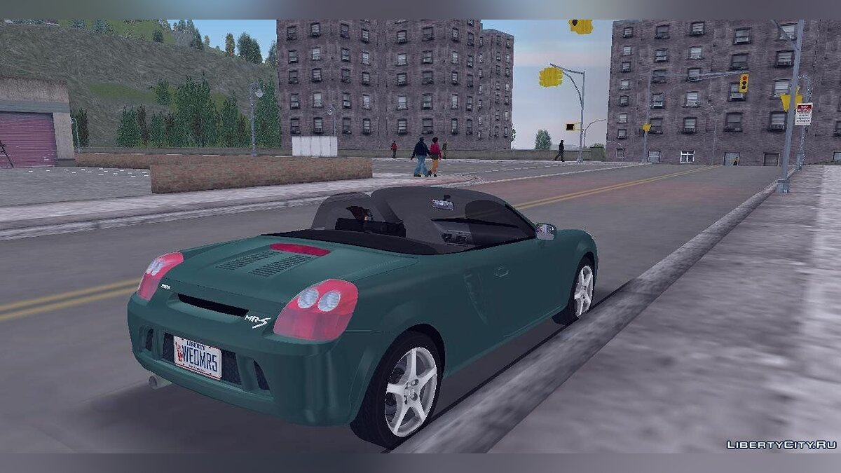 Toyota MR-S для GTA 3 - скриншот #2