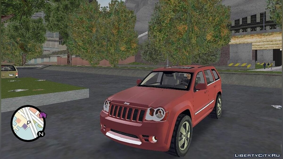 Jeep Grand Cherokee SRT8 для GTA 3