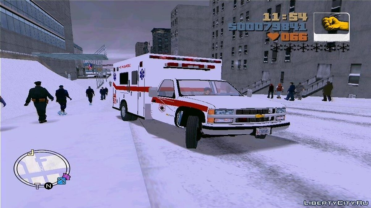 Chevrolet Silverado 2500 Ambulance для GTA 3 - Картинка #2