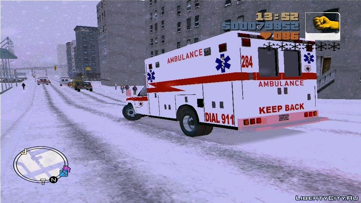 Chevrolet Silverado 2500 Ambulance для GTA 3 - Картинка #3