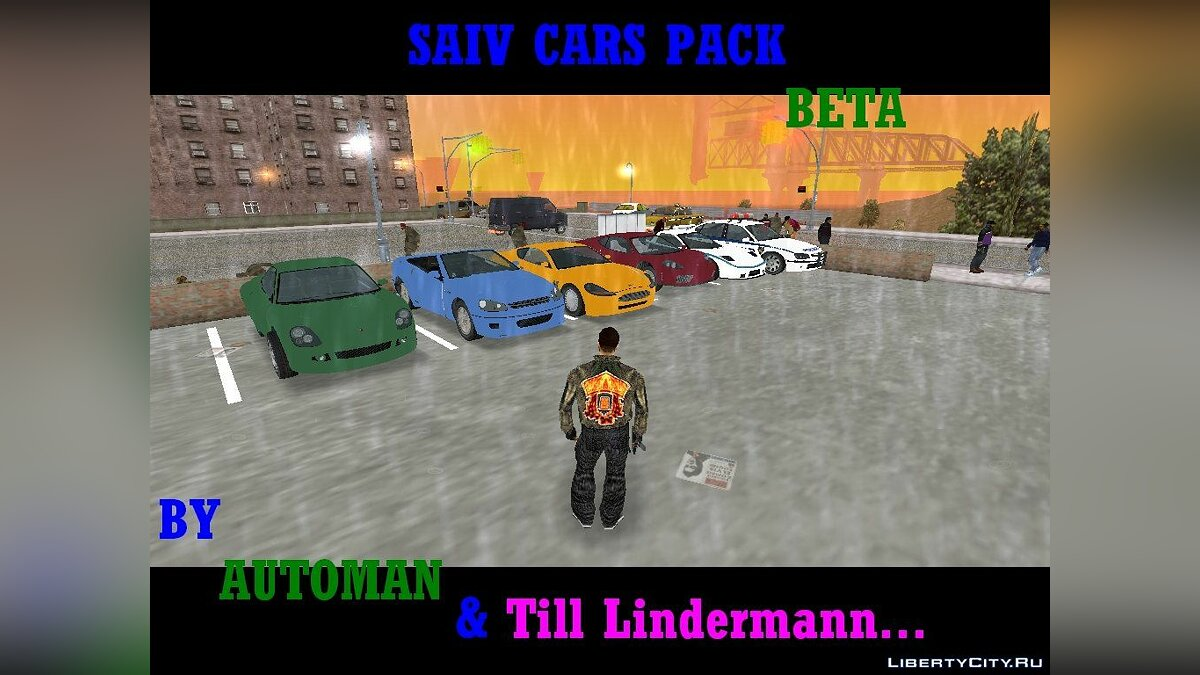 SAIV cars pack beta для GTA 3