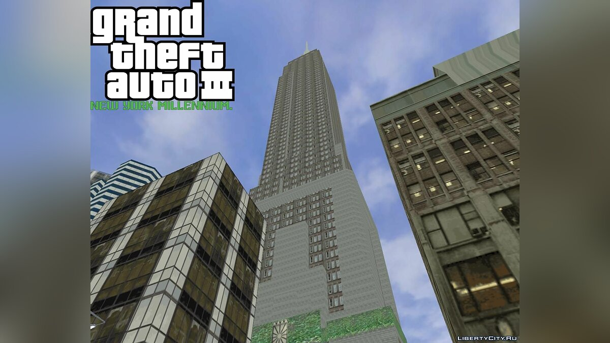 Большой мод GTA 3: New York Millennium Mod. для GTA 3