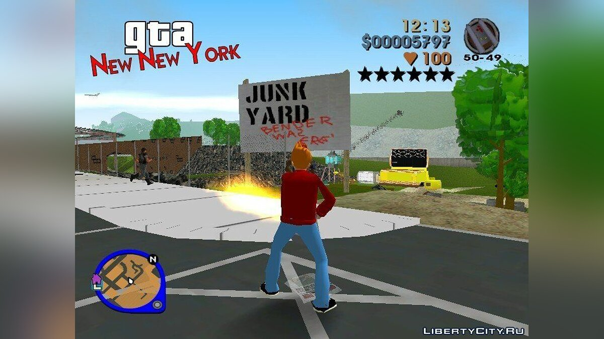 GTA: New New York для GTA 3 - скриншот #9