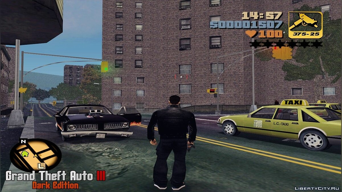 GTA III - Dark Edition Beta 0.2.2 для GTA 3