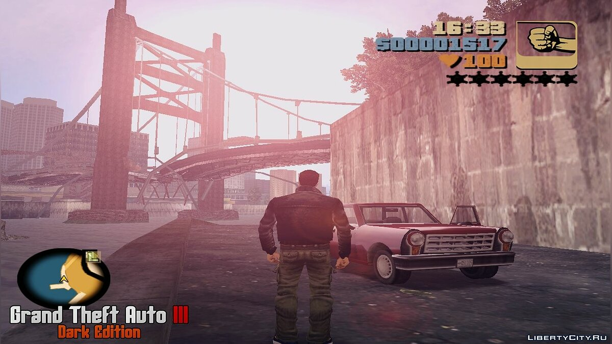 Большой мод GTA III - Dark Edition Beta 0.2.2 для GTA 3