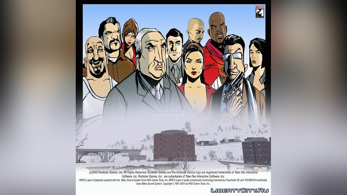 GTA III Snow City v1.1 RePack для GTA 3 - Картинка #1