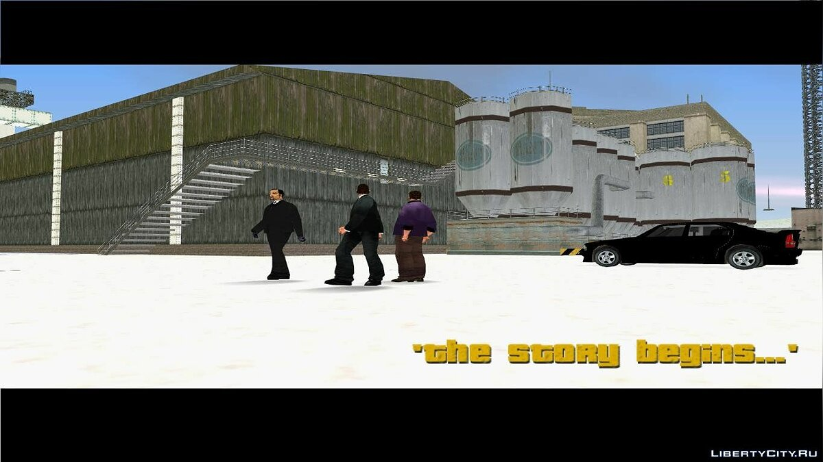 Grand Theft Auto 3 Frosted Winter для GTA 3 - скриншот #4