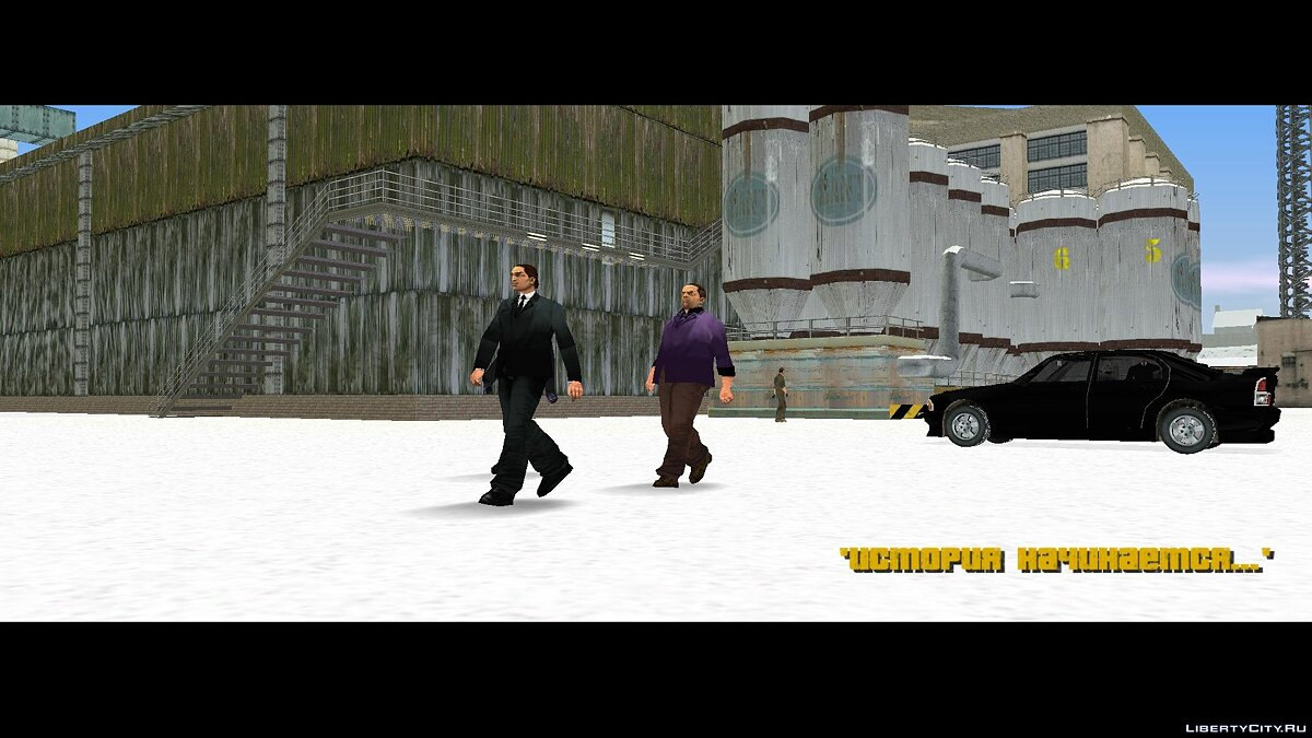GTA Frosted Winter: Ultimate Winter Mod (Русская версия) для GTA 3