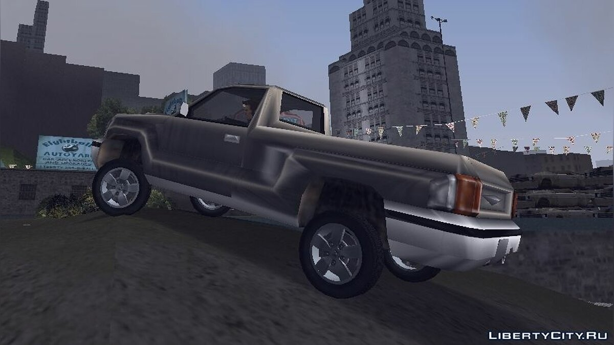 Текстура машины HD wheels для GTA 3