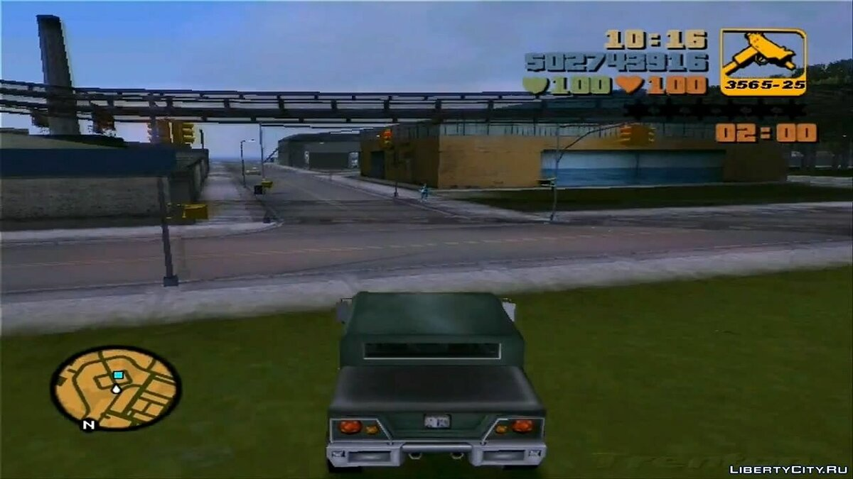 ��ан видео GTA III Curtly's Mission - Stash The Cash для GTA 3