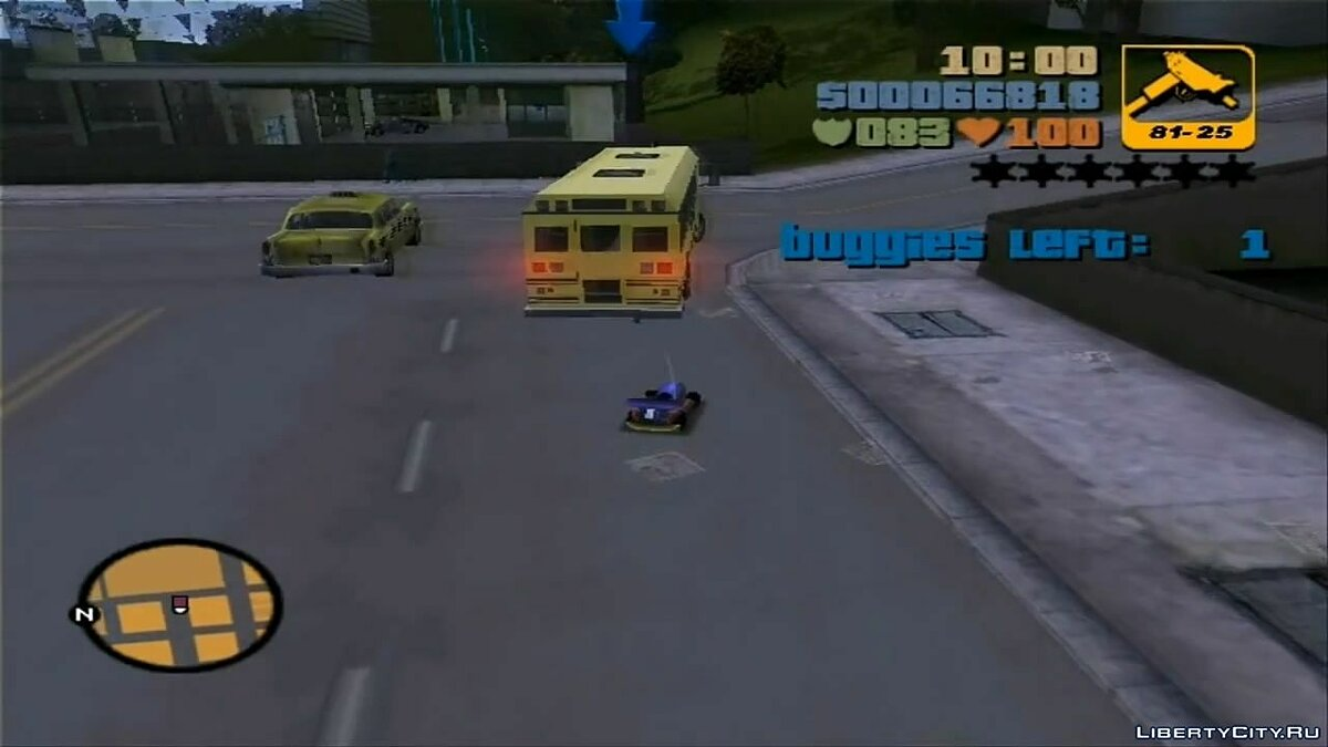 ��ан видео GTA III Darkel's Mission - Blow Up A School Bus для GTA 3