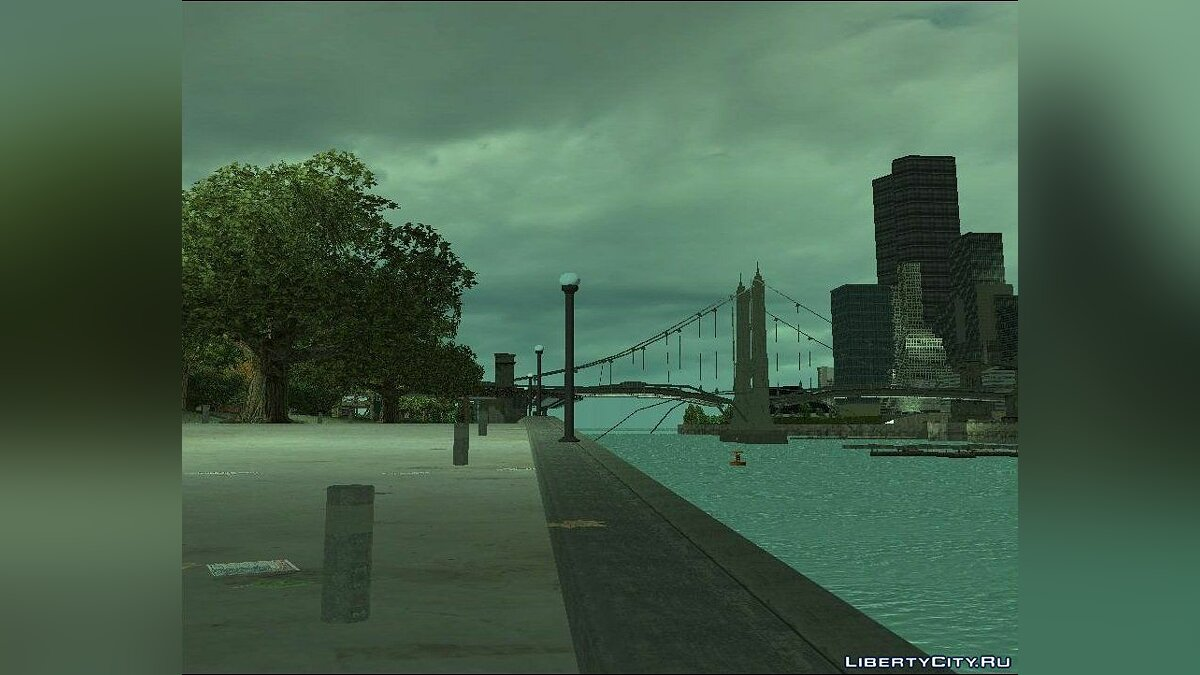 New Water Texture for GTA 3 для GTA 3 - скриншот #3
