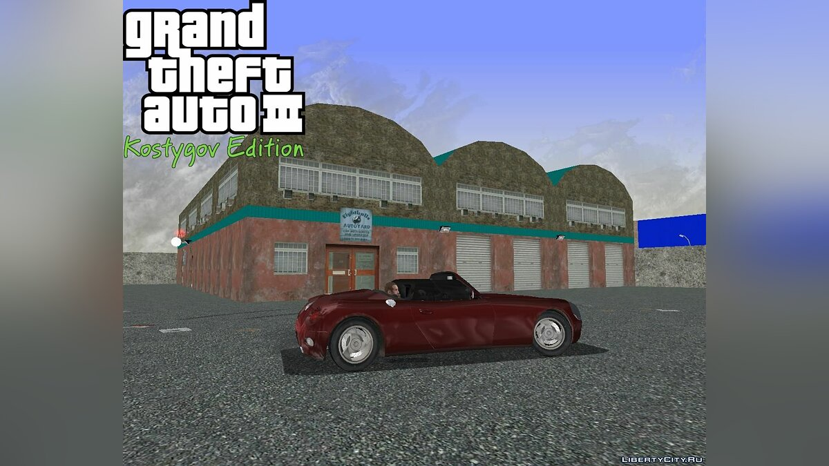 ��екстурный мод KE SV Patch 4 для GTA 3