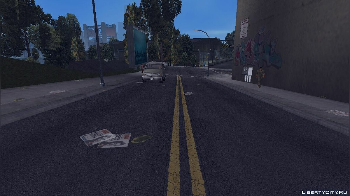 GTA3 HD Road для GTA 3