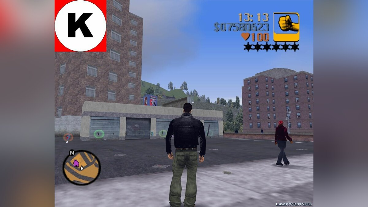 SV R-txd Beta1 MipMapped для GTA 3