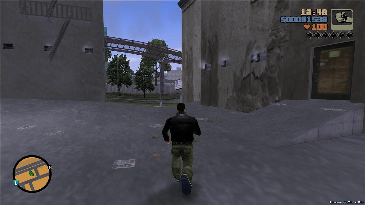 GTA 3 HD HUD PS2 Style для GTA 3 - Картинка #2