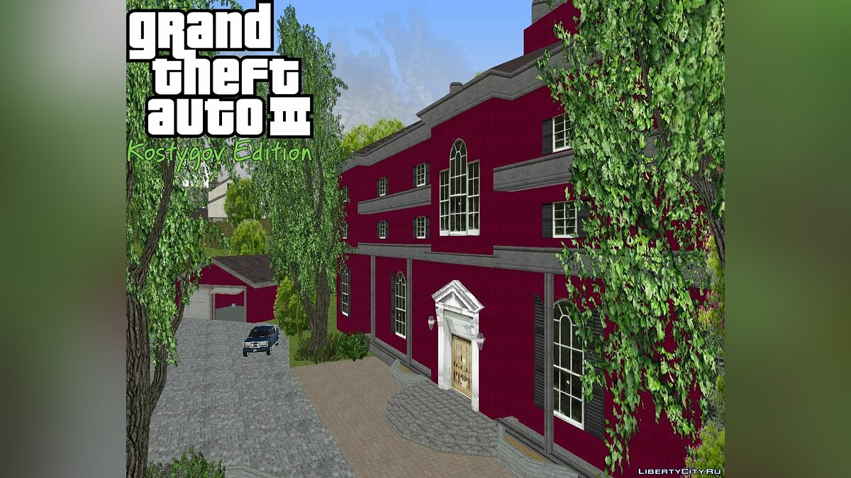 ��екстурный мод KE ColMansion R-TXD. для GTA 3