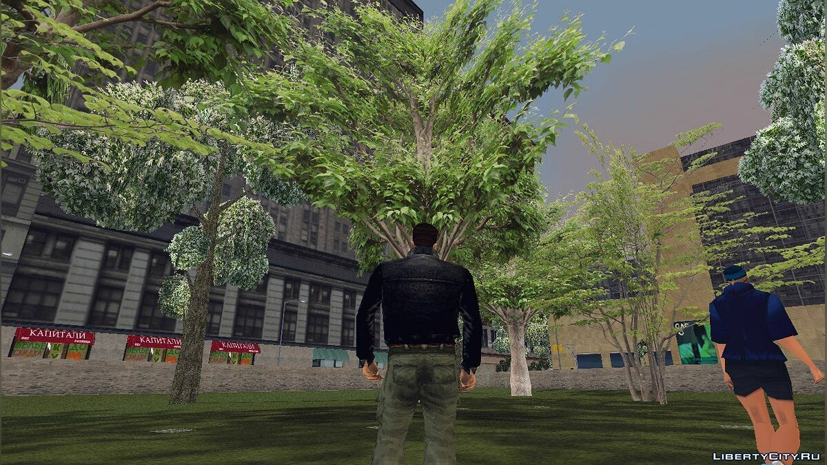 GTA3 HD Trees для GTA 3 - скриншот #3