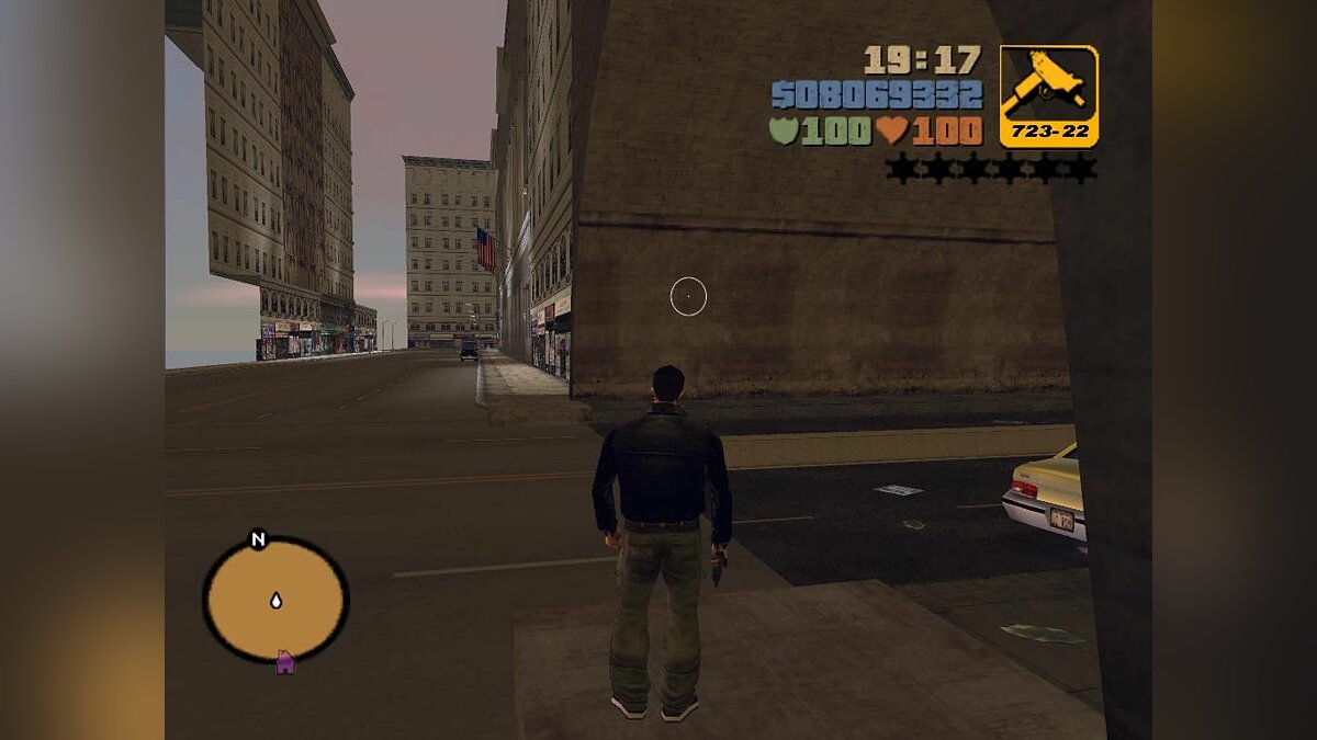 Tunnel To The Ghost Town Ver.2 для GTA 3