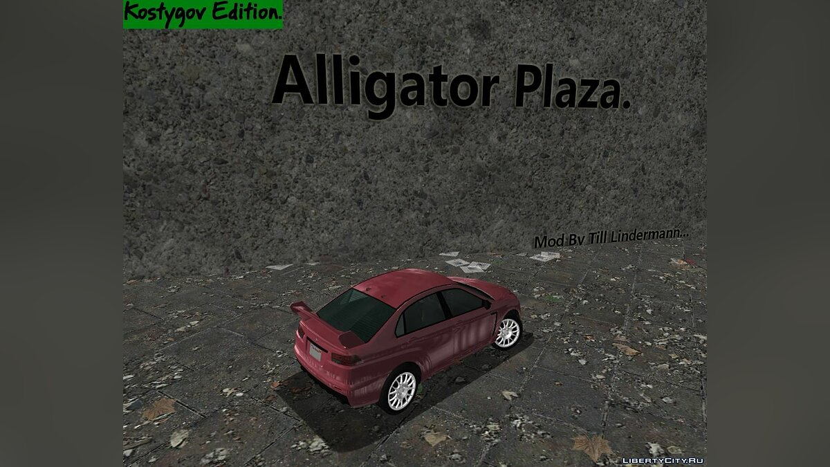 Новый объект Alligator Plaza. для GTA 3
