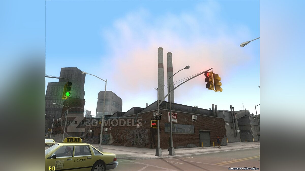Новый объект Liberty Pharmaceuticals для GTA 3
