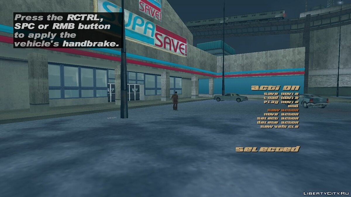 Редактор GTA3 R* movie menu для GTA 3