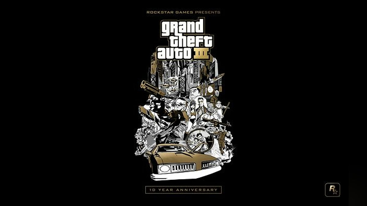 10th Anniversary Music для GTA 3